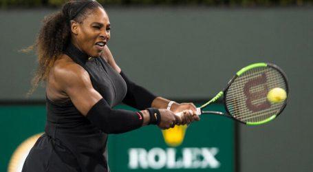 Serena wint bij rentree en neemt het op tegen Bertens