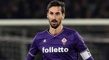Fiorentina keert salaris Astori uit aan vrouw en dochter