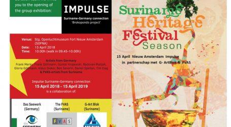 Zevende 'Suriname Heritage Festival' heeft internationaal karakter