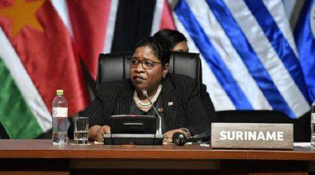 Vrede centraal in toespraak Suriname tijdens 8ste Summit
