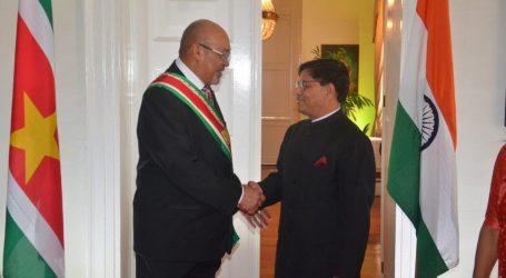 Enorme boost voor economie door MOU Suriname en India