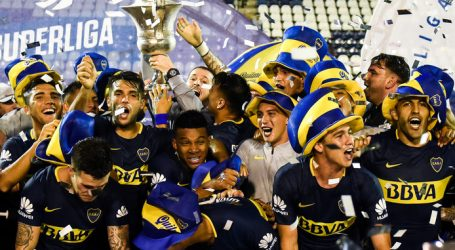 Boca Juniors kampioen van Argentinië