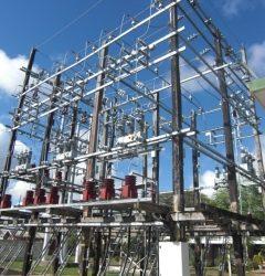 Werkzaamheden aan EBS onderstation Kwatta
