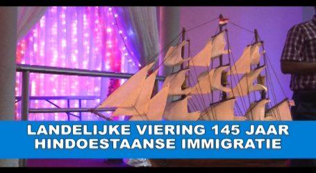 Landelijke viering 145 jaar Hindoestaande Immigratie