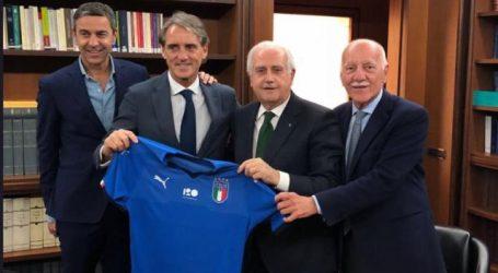 Mancini definitief aan de slag als bondscoach Italië
