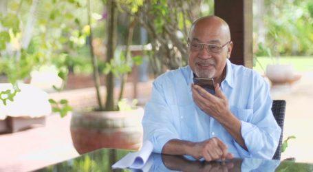 Bouterse geeft terug aan samenleving in verband met jaardag