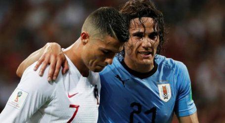 Uruguay naar kwartfinales WK na zege op Europees kampioen Portugal