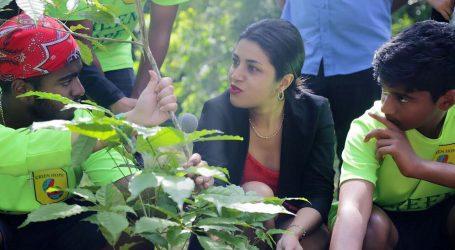 Minister Gopal ondersteunt initiatief Green Hope Foundation