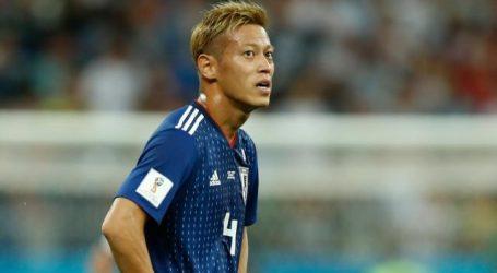 Japanner Honda (32) stopt na nederlaag tegen België als international