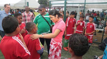 Jeugd voetbalcompetitie gestart in Saramacca