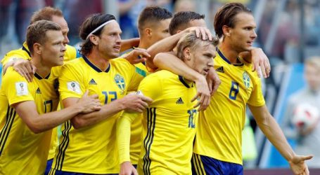 Zweden klopt Zwitserland en is na 24 jaar weer kwartfinalist op WK