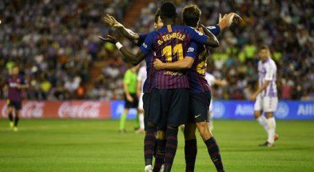 Barcelona ontsnapt door VAR aan laat puntenverlies