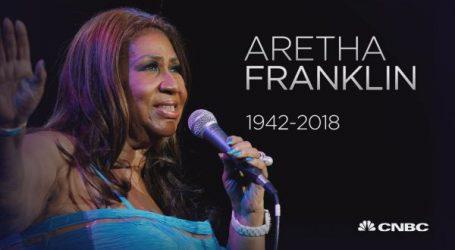 'The Queen of Soul' Aretha Franklin is niet meer