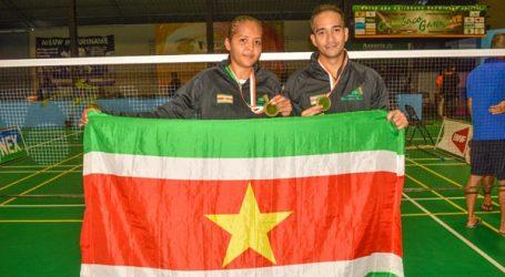 Carebaco 2018: Suriname wint goud bij gemengd-dubbelspel