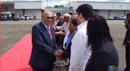 President Bouterse en First Lady vertrokken naar Cuba