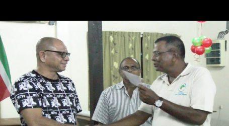 Landbouw Coöperatie Kwatta geeft sociale instellingen financiële injectie