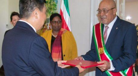 Nieuwe Chinese ambassadeur voor Suriname
