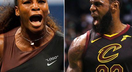 Serena Williams en LeBron James steunen Kaepernick en Nike