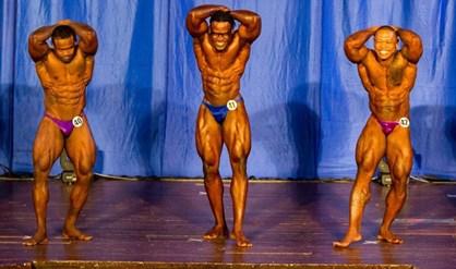Surinaamse Bodybuilders domineren in Frans-Guyana