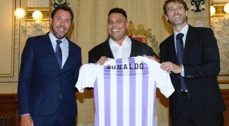 Braziliaan Ronaldo nieuwe eigenaar van Spaanse club Real Valladolid