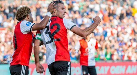Van Persie leidt Feyenoord met twee treffers langs NAC Breda