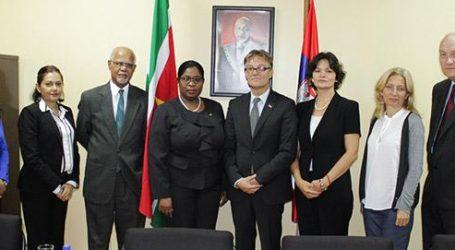 Suriname en Servië bespreken toekomstige samenwerkingsactiviteiten