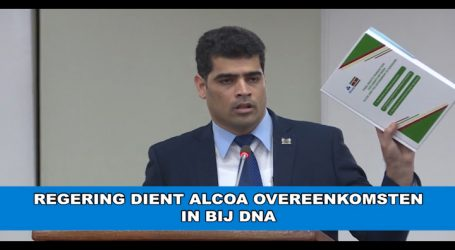 Regering dient Alcoa documenten in bij DNA