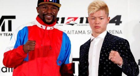 Mayweather maakt op oudejaarsavond rentree tegen kickbokser Nasukawa