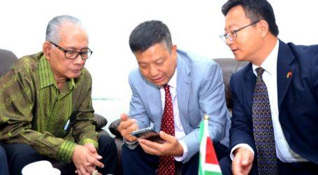 Moestadja ontvangt nieuwe Chinese ambassadeur
