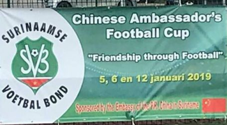 De Chinese Ambasador's Football Cup is ten einde