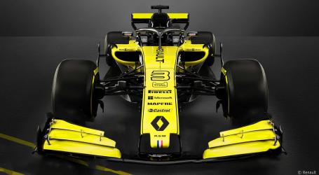 Renault presenteert nieuwe auto voor komend seizoen formule-1