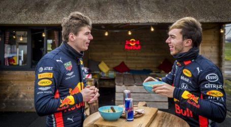 Gasly prijst teamgenoot Verstappen: 'Beste wat mij kan overkomen'