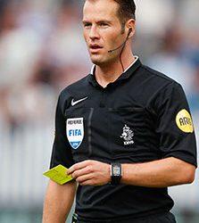 UEFA stelt Danny Makkelie aan voor het Champions League-duel tussen AS Roma en FC Porto