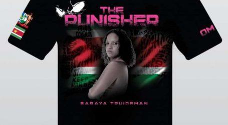 Saraya Truideman jongste vrouwelijke scheidsrechter tijdens de komende Wereld Muay Thai kampioenschappen