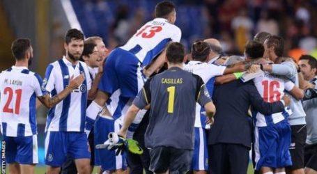 FC Porto heeft zich ten koste van AS Roma geplaatst voor de kwartfinales van de Champions League