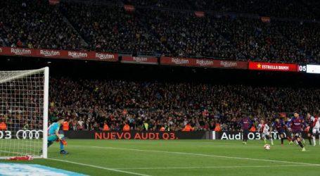 Barcelona en Atletico begaan geen misstap in titelstrijd La Liga