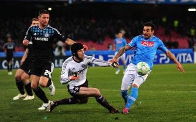 Napoli en Chelsea dichtbij kwartfinales van de Europa League