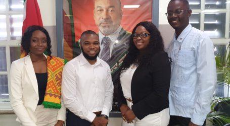 Nieuwe CARICOM- en UN SDG Jeugdambassadeurs gekozen