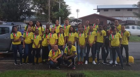 Volleybalsters kampioen in Frans-Guyana