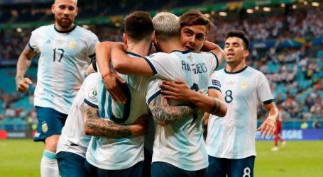 Argentinië heeft zich geplaatst voor de kwartfinales van de Copa América