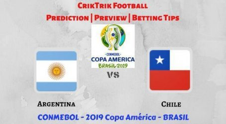 Argetinie en Chili strijden voor derde vierde plek op Copa America