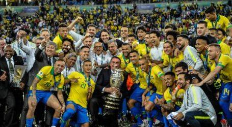Brazilië wint in eigen land voor 9e keer de Copa América