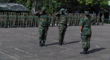 Van rekruut tot soldaat
