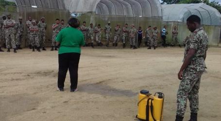 Agrarisch bedrijf Nationaal Leger getraind in verantwoord gebruik van Pesticiden