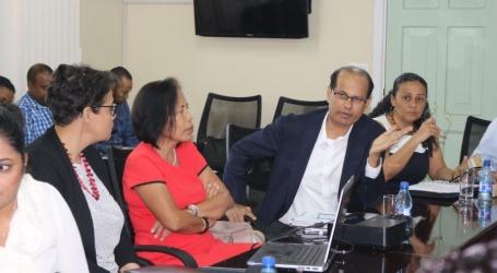LVV bespreekt voorstel voor oprichten van Surinaamse Autoriteit voor Voedselveiligheid met Volksgezondheid en HI&T