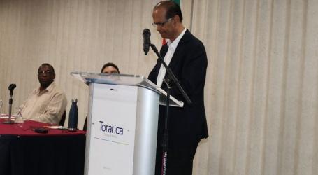 Minister Parmessar vraagt tijdens ICCA Workshop serieuze aandacht voor klimaatsveranderingen in landbouwsector