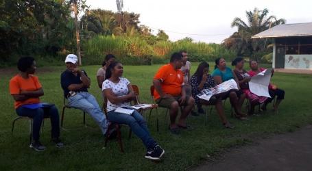 SDG-werkgroep RO informeert gemeenschappen West-Suriname