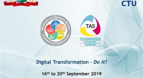 CTU ICT-WEEK IN SURINAME