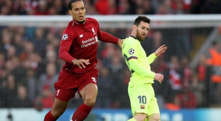 UEFA nomineert Van Dijk, Messi en Ronaldo voor prijs speler van het jaar