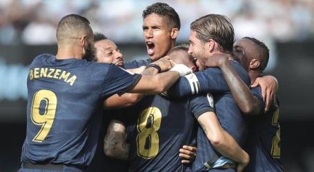 Real Madrid start seizoen met uitzege op Celta ondanks rood Modric
